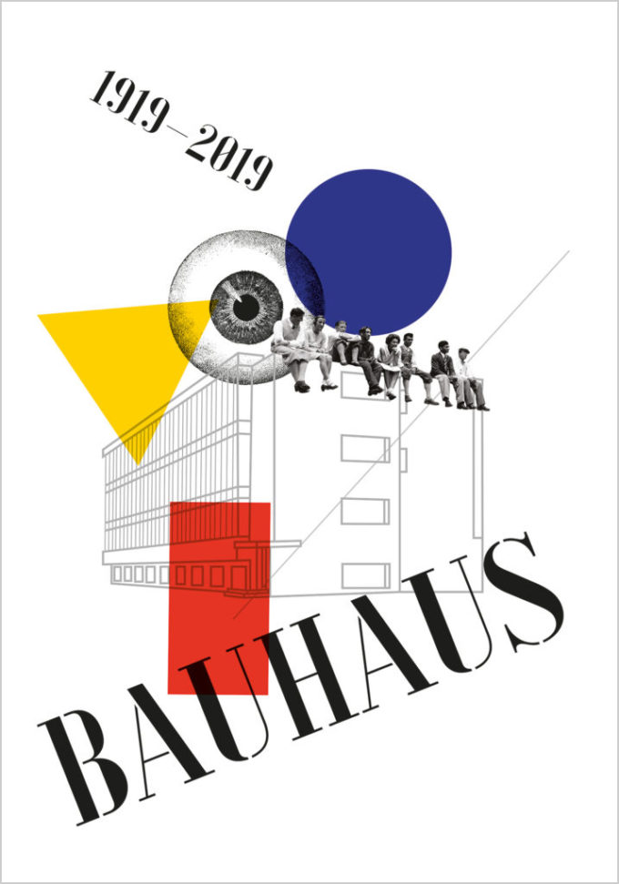 Poster 2 – Bauhaus Posters Serie