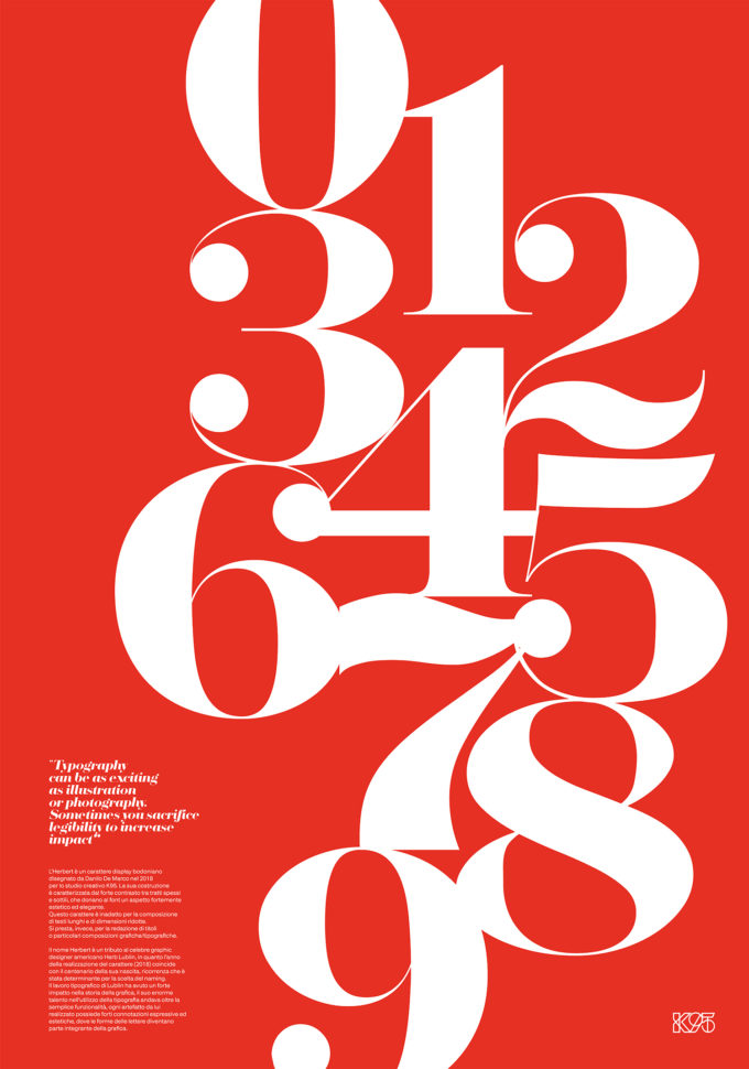 Numbers – Herbert Poster