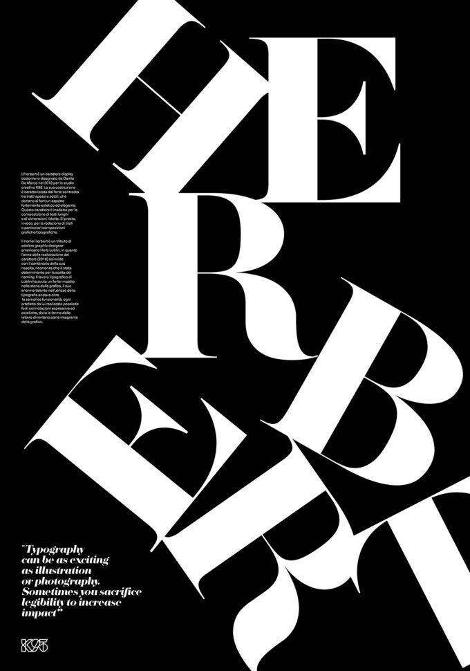 Letters – Herbert Poster
