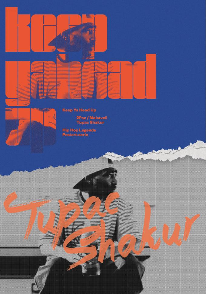 Tupac – Hip Hop poster series