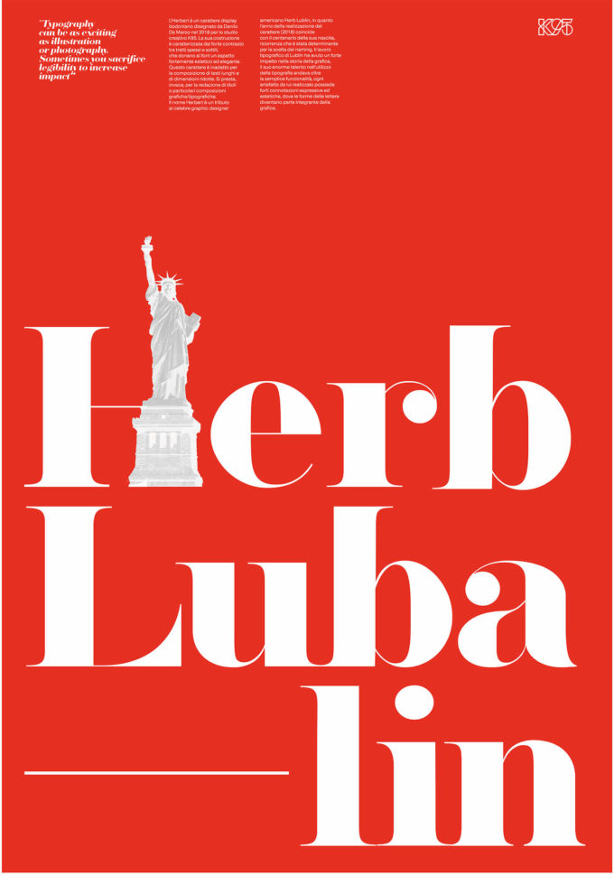 Lubalin – Herbert Poster