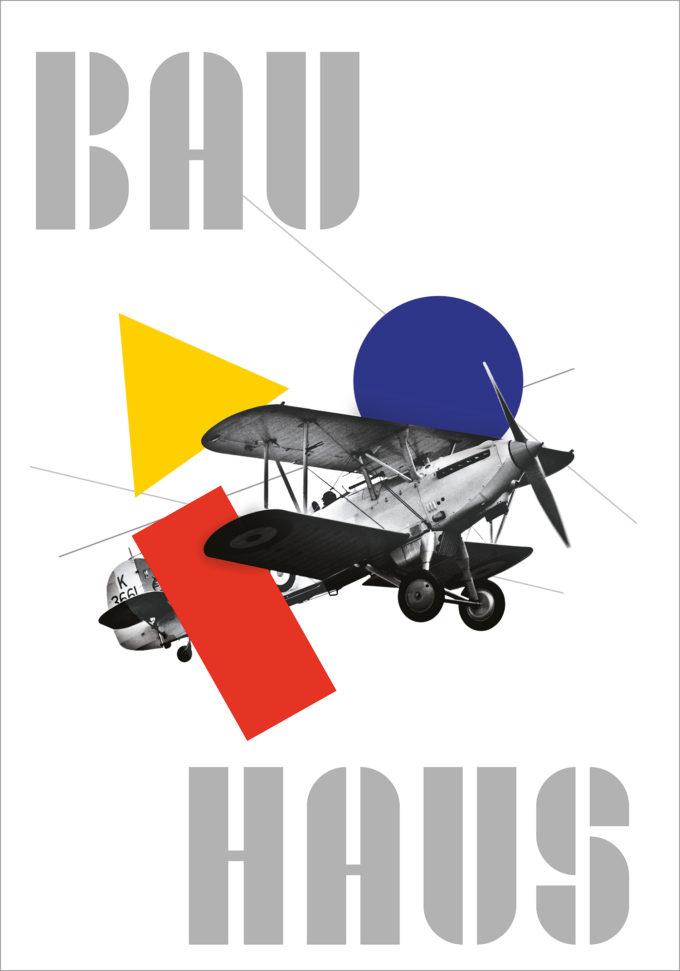Poster 3 – Bauhaus Posters Serie