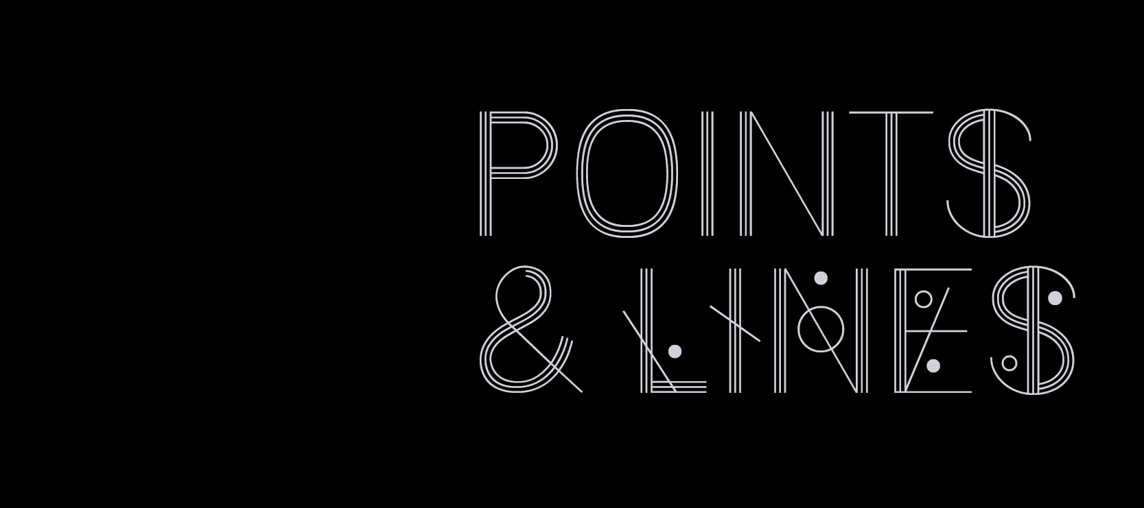 points & lines cover