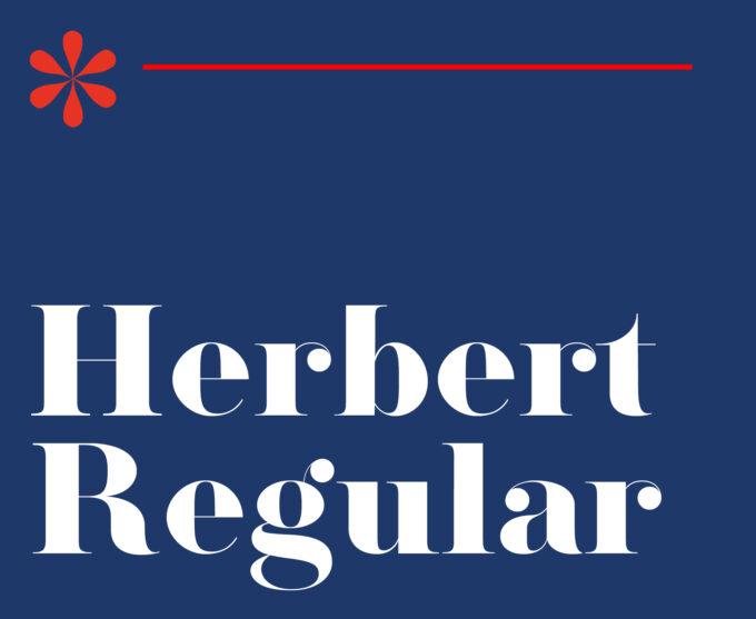 Herbert Typeface - Regular