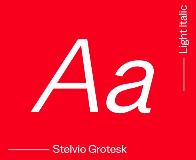 Stelvio Light Italic
