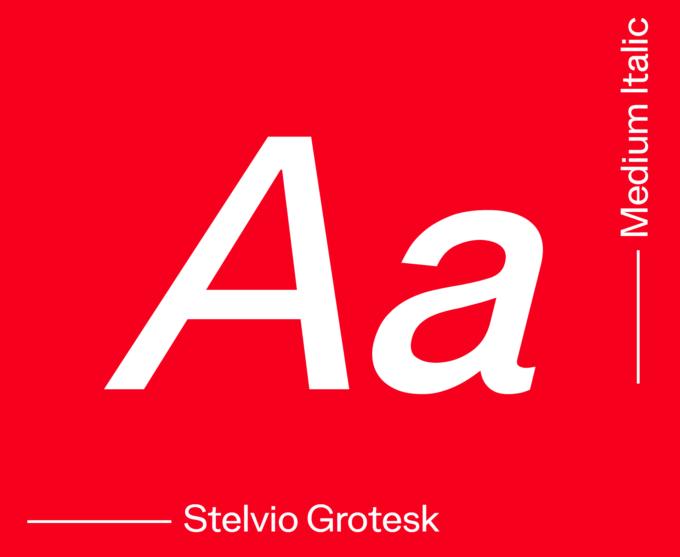 Stelvio Medium Italic
