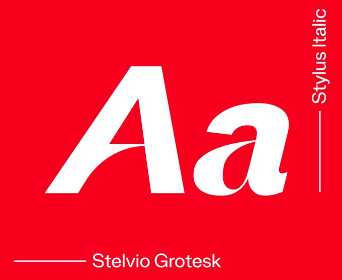 Stelvio Grotesk Stylus Italic