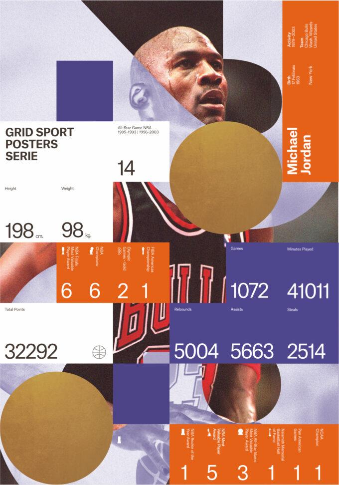 Micheal Jordan - Legend posters series